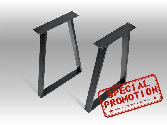 "28"" VEX 60.20 Trapezoid Table Legs"