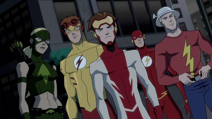 Season 1 Episode 20 Endgame: Artemis & the Flash family