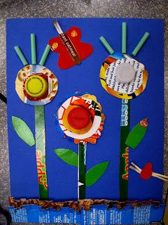 Recycled crafts for Earth Day   Recycling Center