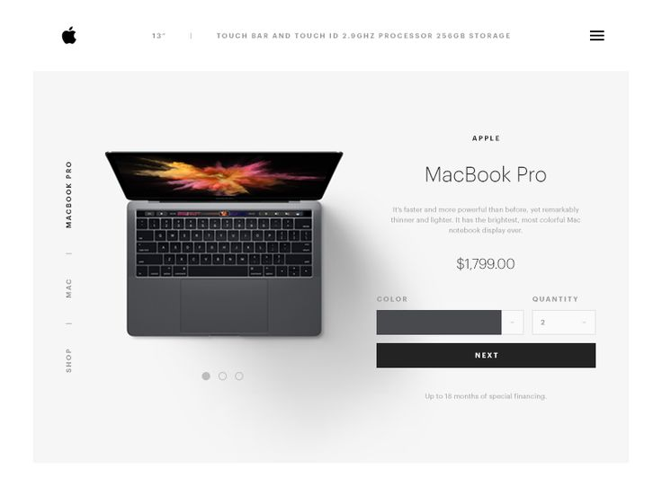 Daily UI: #033 Customize Product
