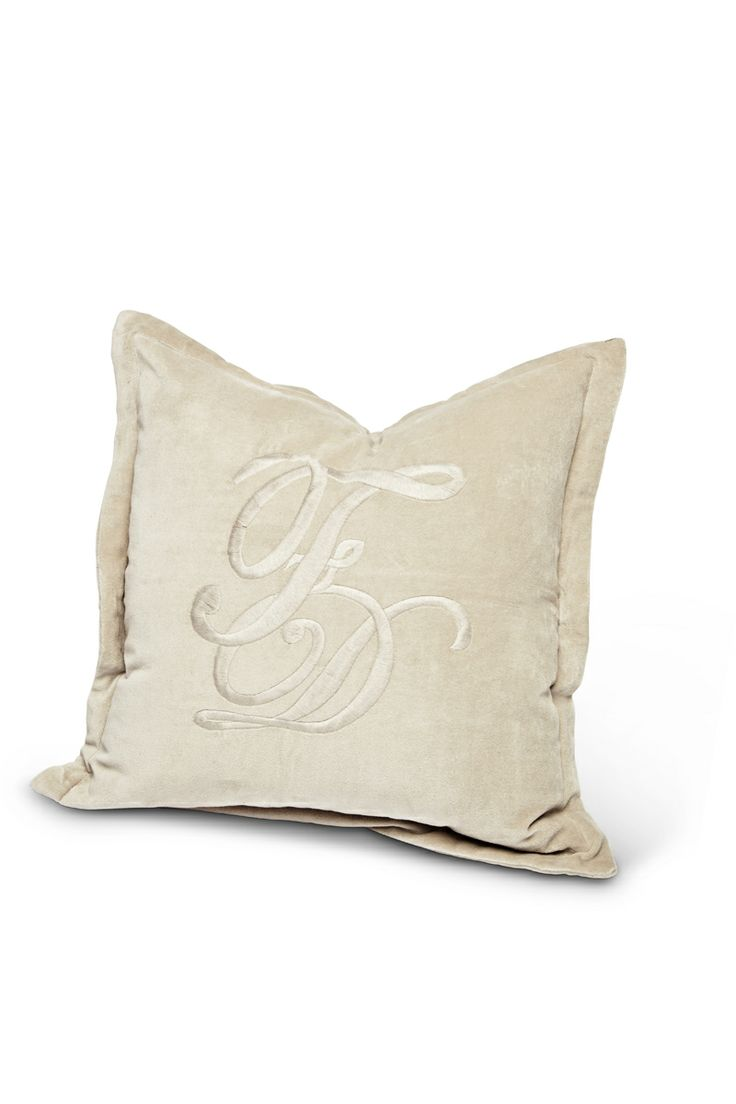 F&D Pillowcase from Florence Design for Summer/Spring 2014 in beige <3