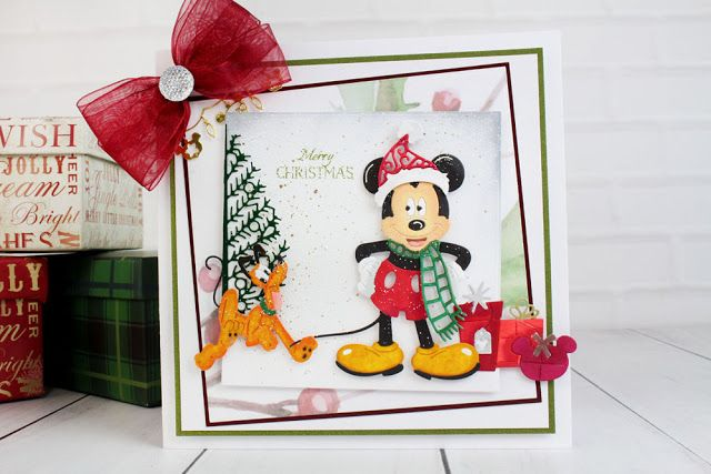 DutchPaperCrafts: Mickey Mouse Tattered Lace PreOrder!