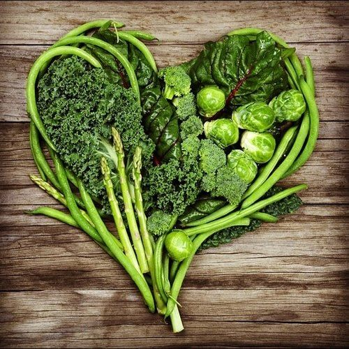 Veggies and your heart!
