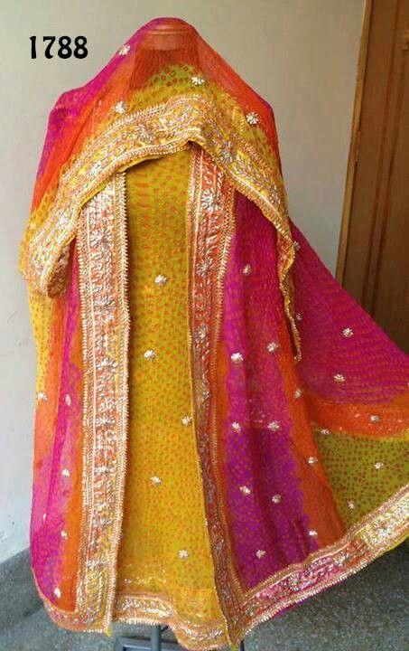 214c9374f7 Gota Patti Work Salwar Kameez- Bahawalpur Chunri House, Pakistan |  Salwar/Churidaar Suits | Bridal mehndi dresses, Dresses, Pakistani dresses