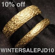 Handmade jewelry in sterling silver and gold by preciousjd on Etsy