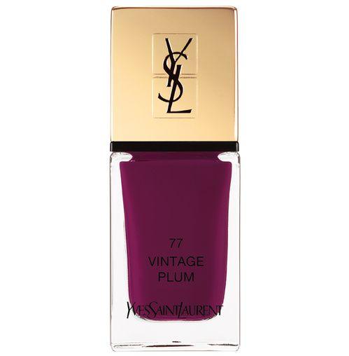 Les vernis de l'automne : La Laque Couture Vintage Plum, Yves Saint Laurent