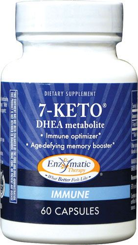 7-keto-DHEA might promote weight loss by speeding up the body's metabolism. But unlike DHEA, 7-keto-DHEA is not converted to steroid hormones such as androgen and estrogen. Taking 7-keto-DHEA by mouth or applying it to the skin does not increase the level of steroid hormones in the blood. Don't take it too close to bed. Talk to your doctor!  http://www.healthywomen.org/condition/androgen