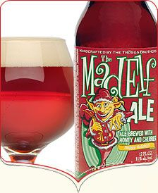 Tröegs Brewing Company | Mad Elf Ale - a delicious, ruby red holiday beer that is a combination of honey and cherries; 11% ABV.