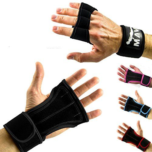 Cross Training Gloves with Wrist Support for WODs,Gym Workout,Weightlifting & Fitness-Extra Padding to avoid Calluses-Suits both Men & Women-The Best Weight Lifting Gloves for a Strong Grip-MavaSports Mava Sports http://www.amazon.com/dp/B00V6R4J1M/ref=cm_sw_r_pi_dp_2q1zwb0FARYBD