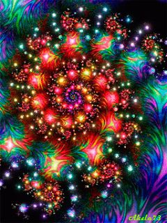 Changing your perspective, changes your experience. . .  [ fractal spiral -- GIF ]