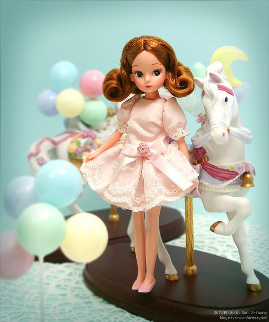 Licca Repro 2nd Generation by dressy doll, via Flickr