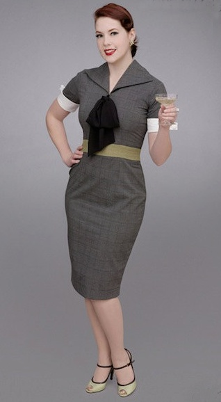 Karen Irrisistable Vintage Style 50s Office Secretary Dress - Mad Men Style: Wiggle Pencil, Mad Men Style, Karen O'Neil, Karen Wiggle, Night Dresses, Pencil Skirts, Pencil Dresses, Pinup Fashion D, Vintage Style