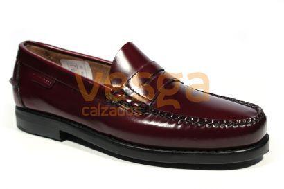 Martinelli Alcala B182-0011 Zapatos Vestir Mocasin Hombres Burde