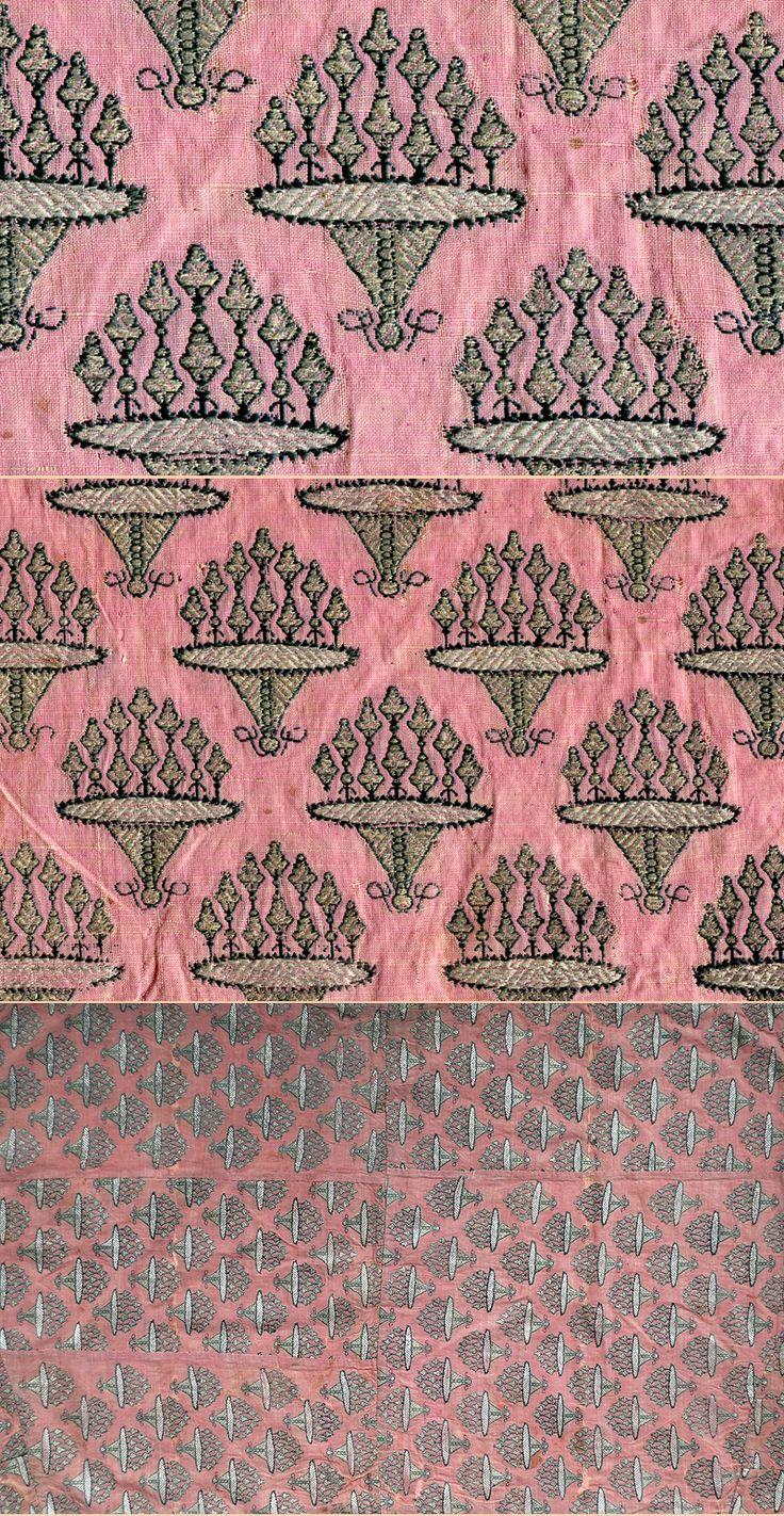 Persian Safavi Textile, 17th Century / TextileAsArt  Fine Antique Textiles