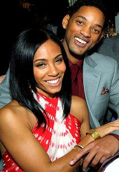 Will and Jada Smith-Just the sweetest couple and really great parents!