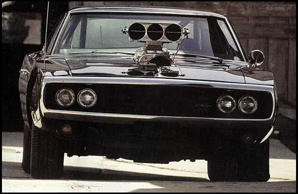 1970 Dodge Charger from the movie Fast&Furious....950 h.p. supercharged and nitrous....very angry looking..I like it!