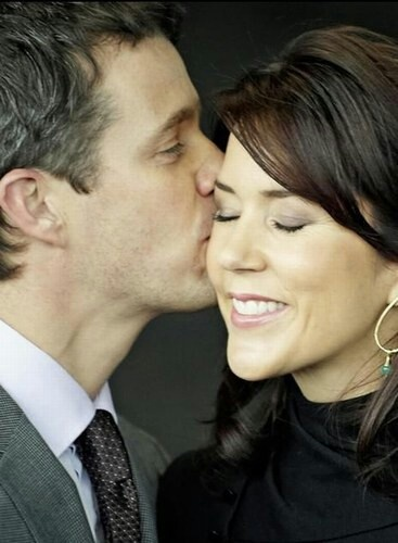 Such a lovely photo & couple as well!!! Crown Prince Frederik and Crown Princess Mary...beautiful pic from Denmark