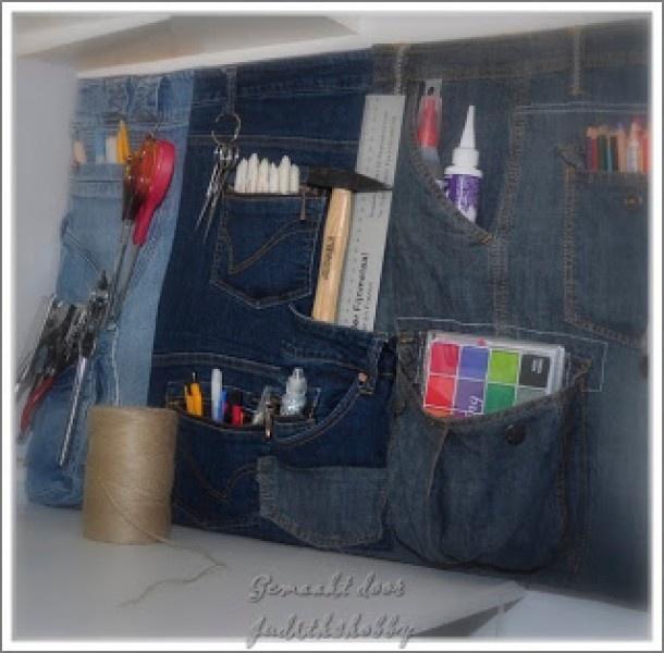 oude jeansbroeken krijgen nieuw leven