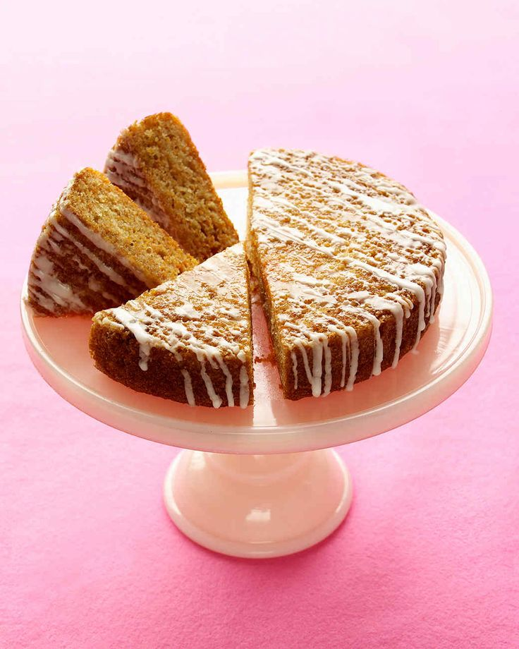 Spiced Carrot Cake | Martha Stewart Living - Low-fat yogurt lightens up this carrot cake. A bit of cardamom or cinnamon gives it a warm spicy kick.
