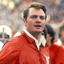 Tom Osborne. Husker Head Coach (1973-1997) He won 3 National Championships with Nebraska (1994-1995, 1997). We need Dr. Tom back.