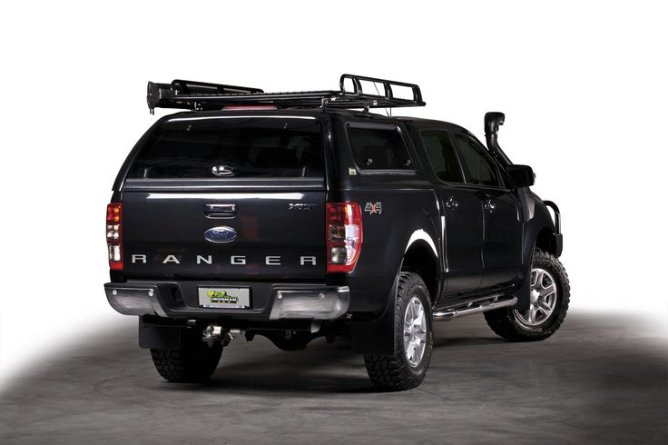 Ford Ranger with Canopy & Ironman 4x4 Roof Rack.    http://ironman4x4.com/