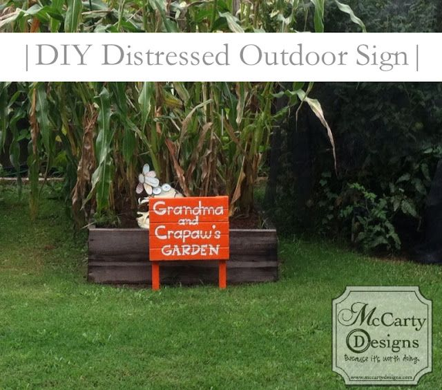 diy outside sign - Google Search