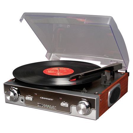 Record player!?! Heck yea!! Because music sounds so much better on record player!!