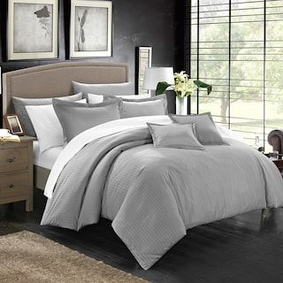 Sweethome Collection Vine Embossed Bedding Set