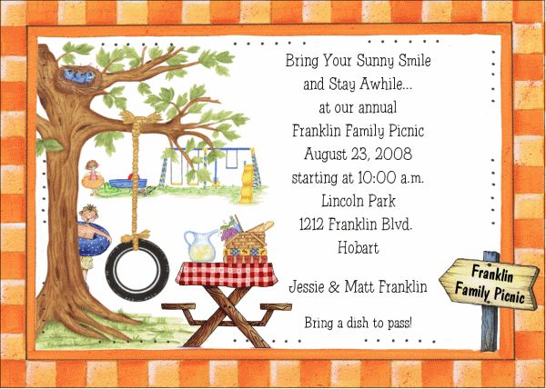 1000 ideas about Family Reunion Invitations – Sample Invitation for Get Together