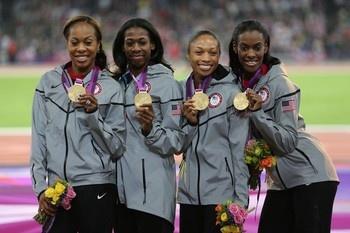 Congrats to Allyson, Sanya, DeeDee & Francena! Gold!