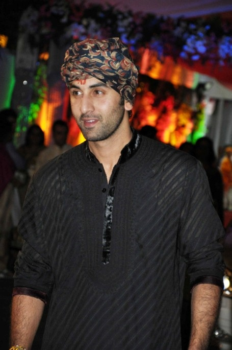 Ranbir Kapoor is an Indian Bollywood Actor and he loves to wear Indian Ethnic Sherwani.