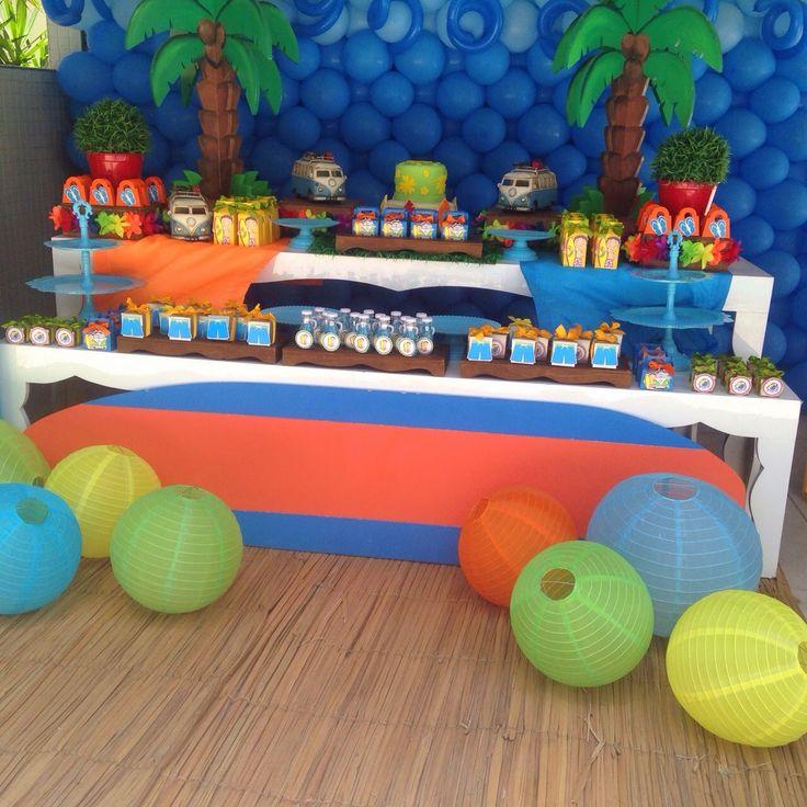 25 melhores ideias sobre festas na piscina no pinterest for Piscina party