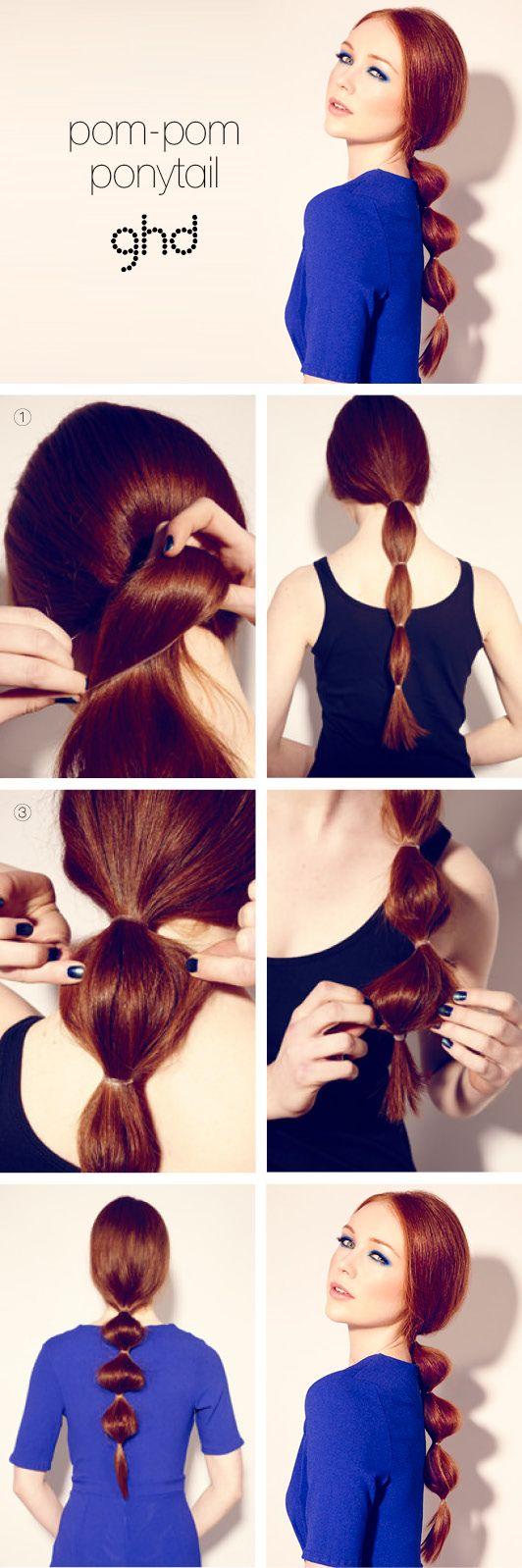 How to hairstyles pom pom ponytail  GUIDA STEP-BY-STEP: POM POM PONYTAIL  Rendi più POP la tua coda! Dona ai tuoi CAPELLI un look FASHION-TWIST con queste semplici mosse.