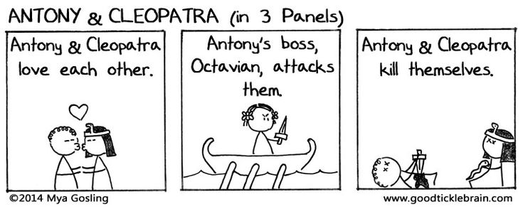 Shakespeare — All of Shakespeare in 3 panel comics. Brilliant!!