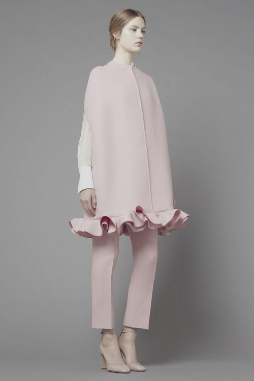 from obscure to demure, Esther Heesch for Valentino Pre-Fall 2013.