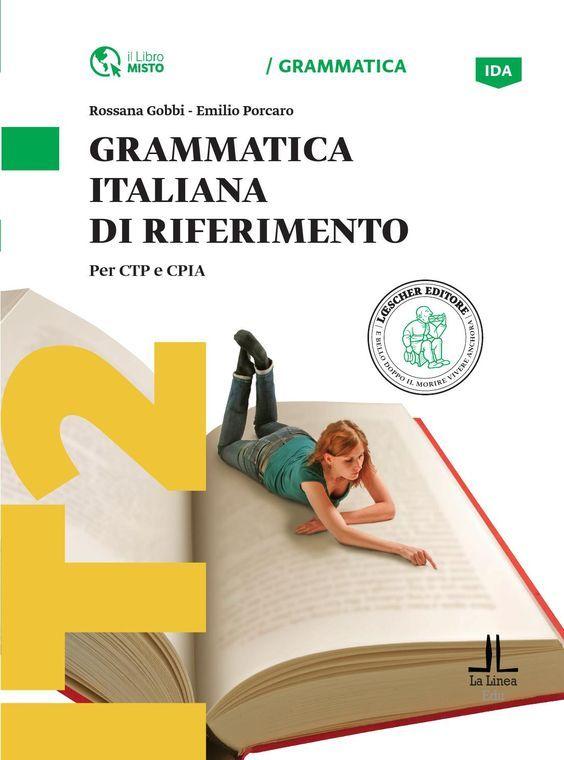 Una grammatica per l'apprendimento, il ripasso e il consolidamento delle strutture della grammatica italiana. Spiegazioni semplici, molti esercizi e una sezione di attività didattiche ludiche per sollecitare il coinvolgimento degli apprendenti adulti.