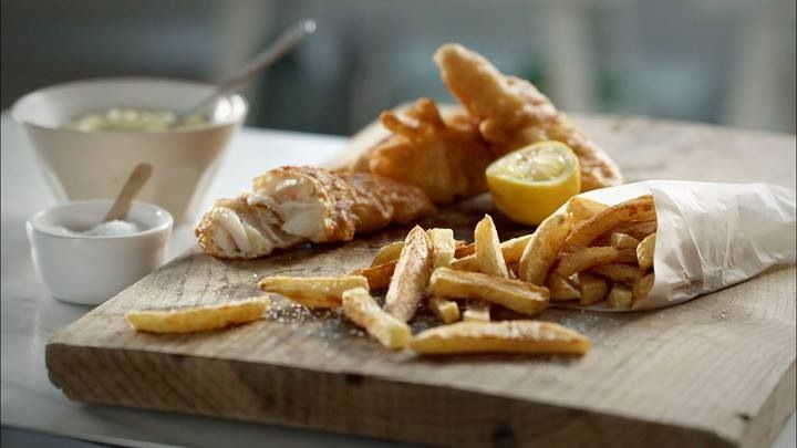 fish 'n' chips by Dita P.
