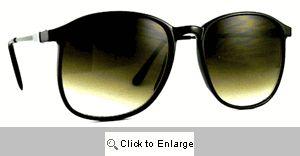 SWANK Vintage 70's Shades Sunglasses - 582 Black