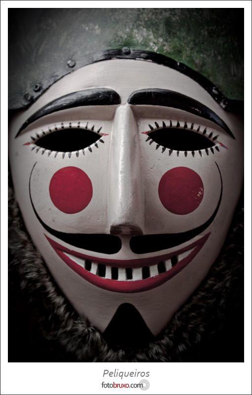 Peliqueiro mask, Laza Carnival. Galicia, Spain