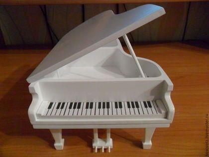 """Шкатулки ручной работы. Ярмарка Мастеров - ручная работа. Купить шкатулка """"рояль"""". Handmade. Шкатулка для украшений, шкатулка из дерева"""
