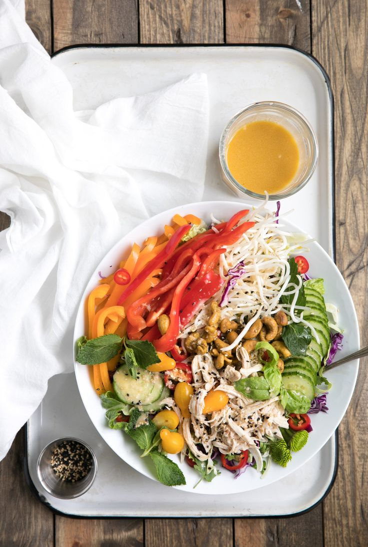 Fresh, healthy and so easy to throw together, this Easy Asian Chopped Chicken Salad with... Read Post