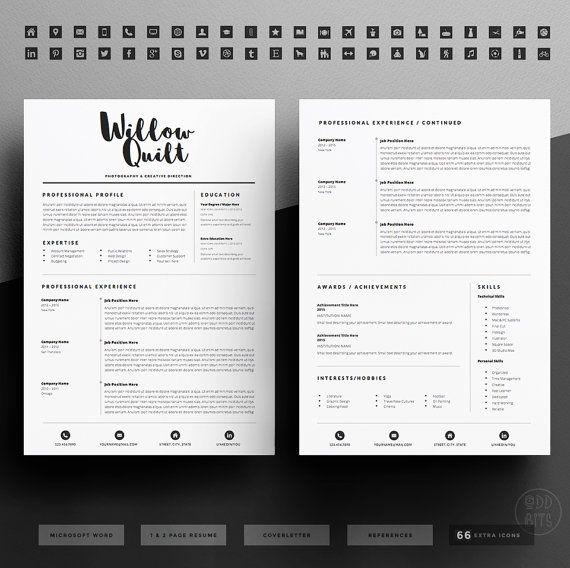 74 best cv_portfolio images on Pinterest Resume, Resume design - fun resume templates free