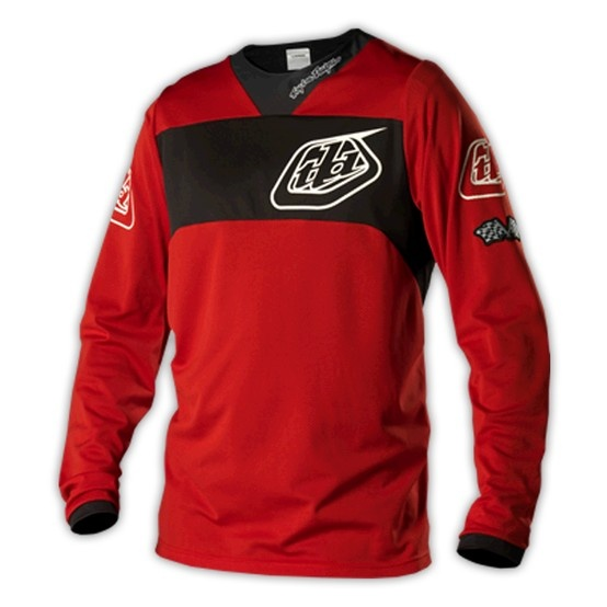 Troy Lee Design SE Pro Bike Jersey Corse Red  https://www.troyleedesigns.com/products/1764-04
