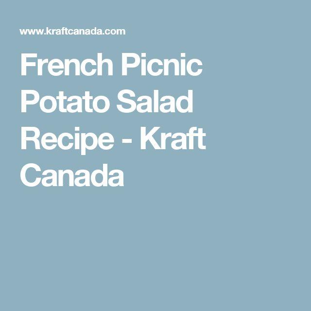 French Picnic Potato Salad Recipe - Kraft Canada