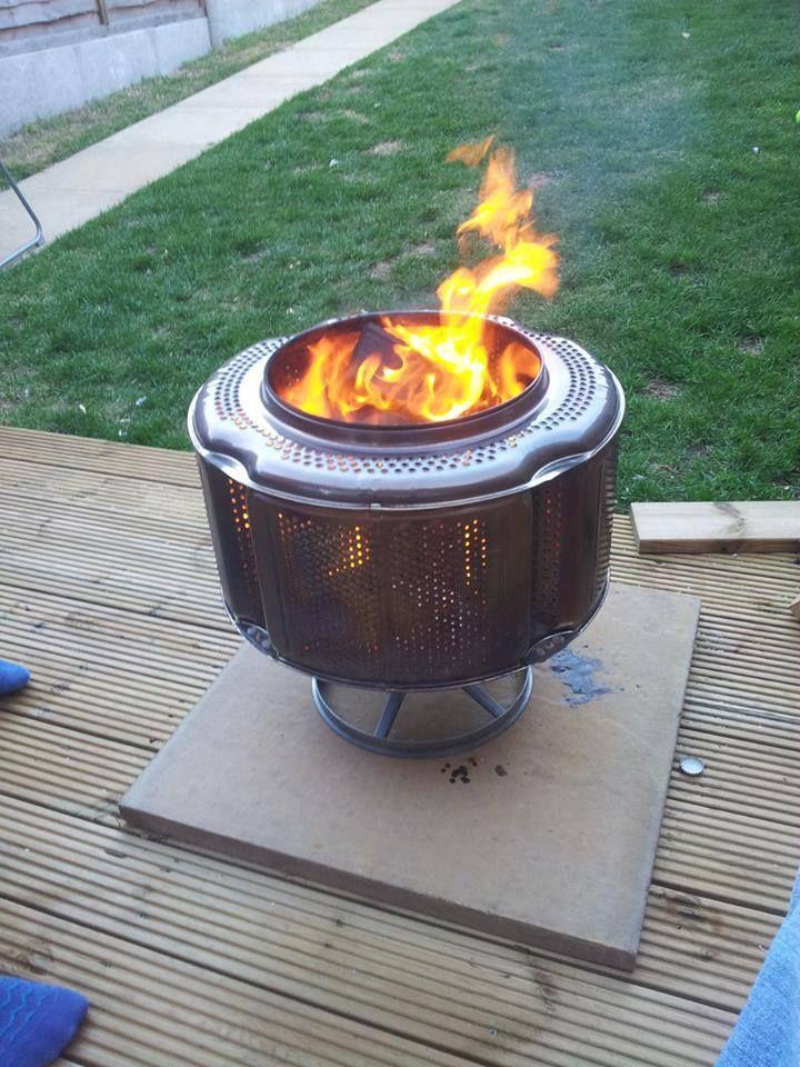 Buy Washing Machine Drum Fire Pit