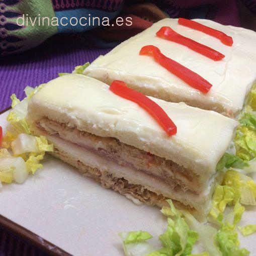 Pastel de sandwich » Divina CocinaRecetas fáciles, cocina andaluza y del mundo. » Divina Cocina