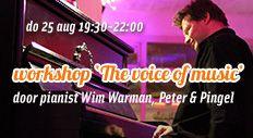 Workshop Argentijnse tango muziek met Wim Warman