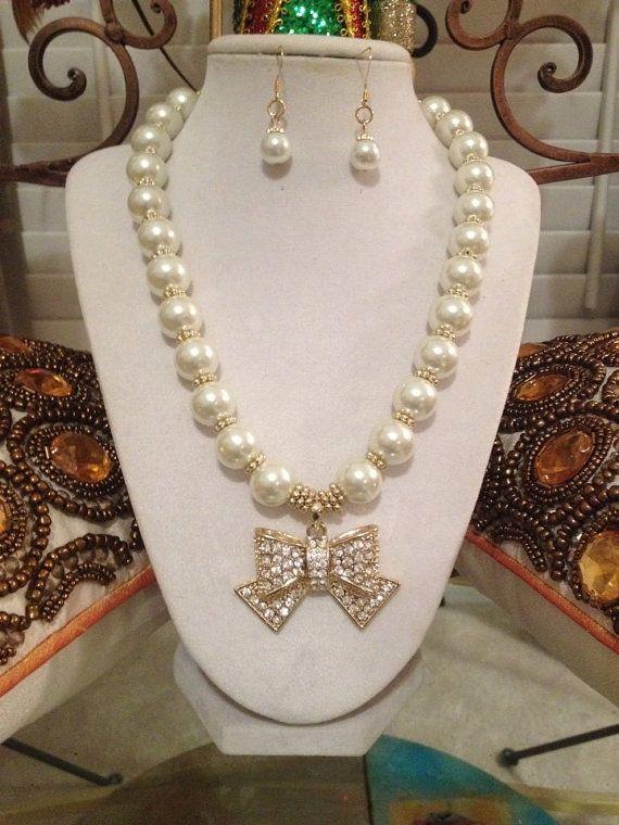 Fashion Costume Jewelry Set  Statement by AnkesUniqueTreasures