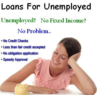 Loans For Unemployed provide loans to everyone who are not currently employed and do not have fixed monthly income. Apply with this loan even with your credit rating is not good. http://www.emergencyloansbadcredit.com/loans-for-unemployed.html
