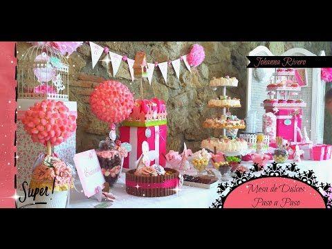 17 best images about mesa de dulces on pinterest angeles - Decorar mesas para fiestas ...